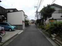 茅ヶ崎市浜之郷売地 前面道路