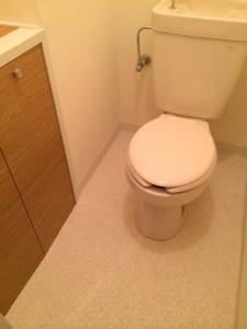 シルクハイツトイレ
