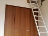 クロワールKロフト階段