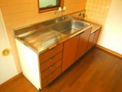 リッツコート2号室キッチン