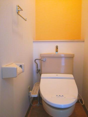 リッツコート2号室トイレ