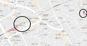 宮崎台ハイツ現地地図